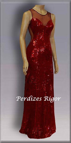 Aluguel De Vestidos Para Madrinhas Modelo Vermelho Em