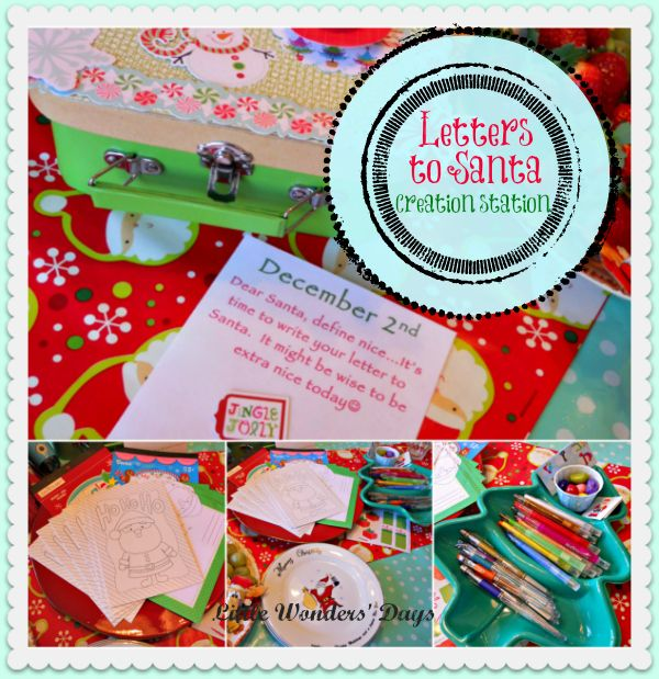 Letters to santa creation station all things christmas pinterest letters to santa creation station spiritdancerdesigns Gallery