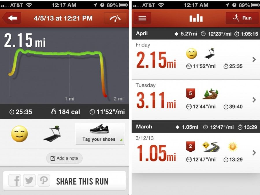 Nike+ Running App Review with a detailed list of pros and