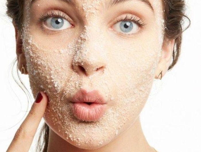 Comment faire un gommage visage maison - idées pour une belle peau - Archzine.fr   Gommage ...