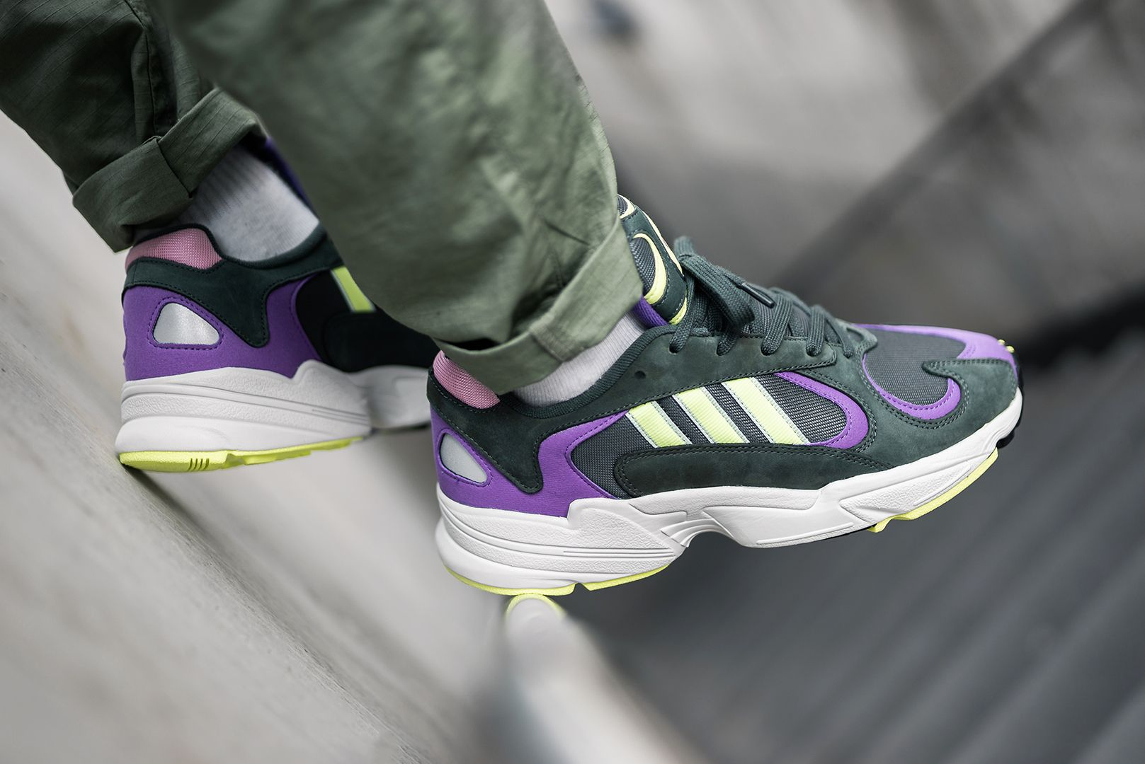 adidas Yung 1 (green purple) in 2019