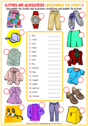 Unscramble Words Fashion For Women