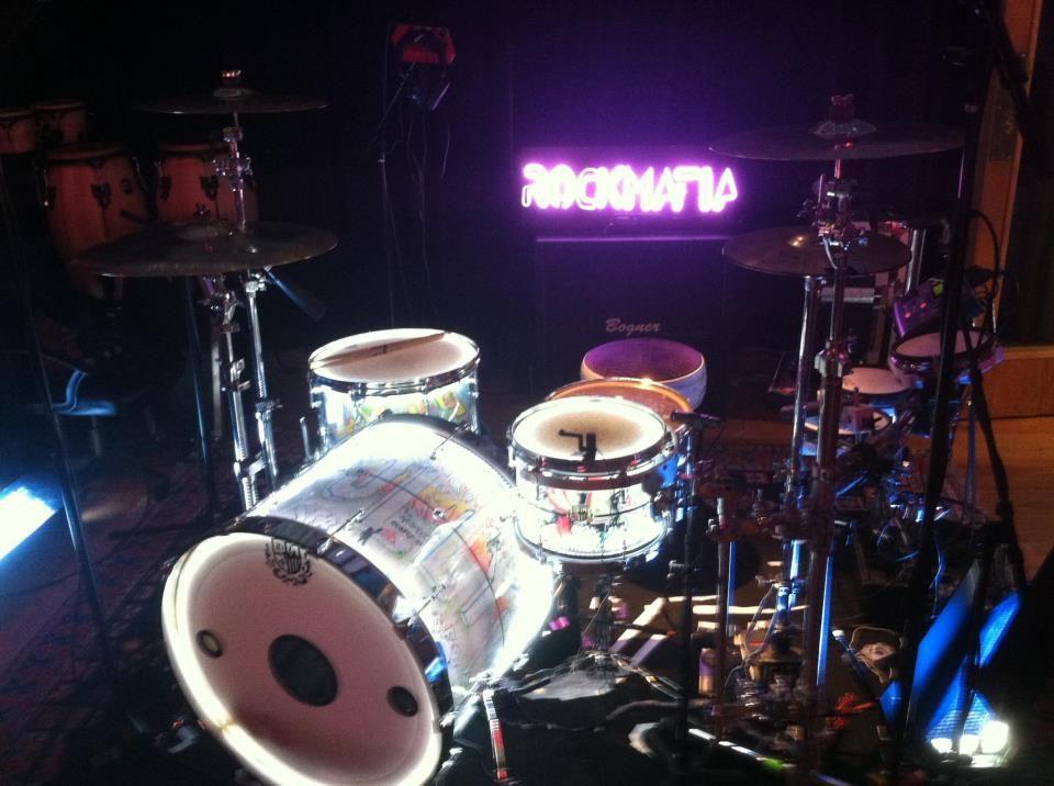 Johnny Barbas TMD Custom Drums kit. http://www.tmdcustomdrums.com
