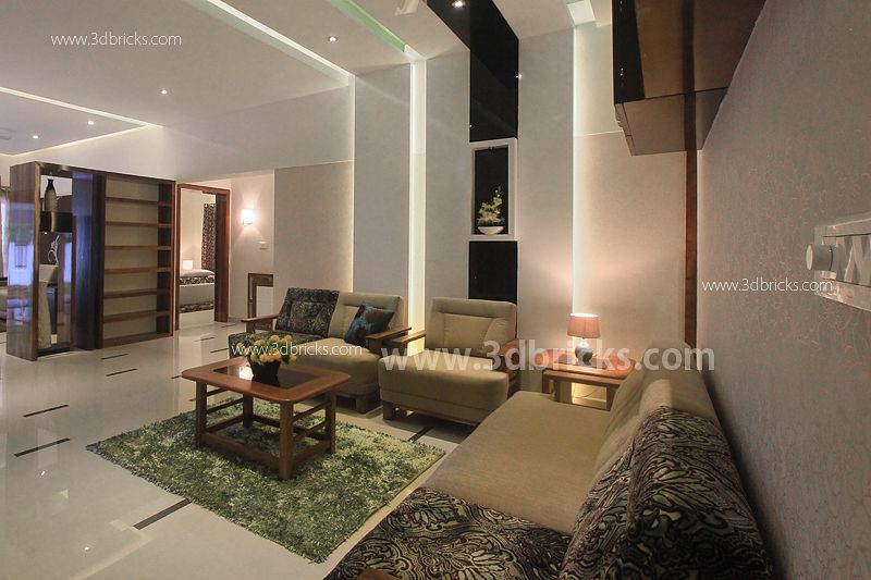 Living Room  Remodeled Bungalow In Trivandrum  Living Room Captivating Bungalow Living Room Design Decorating Inspiration