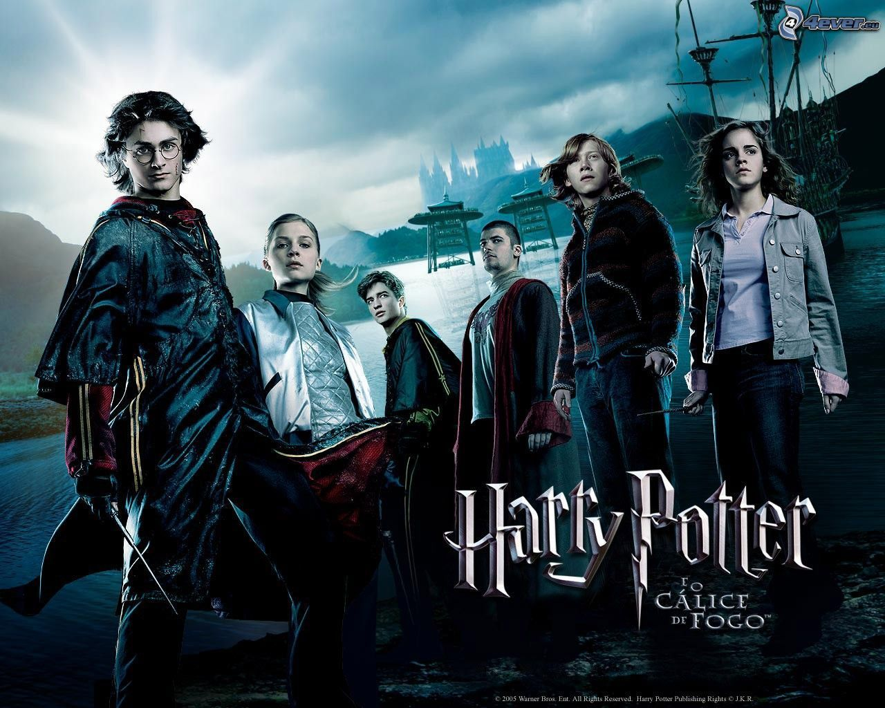 Calice di fuoco, Harry potter, Hogwarts