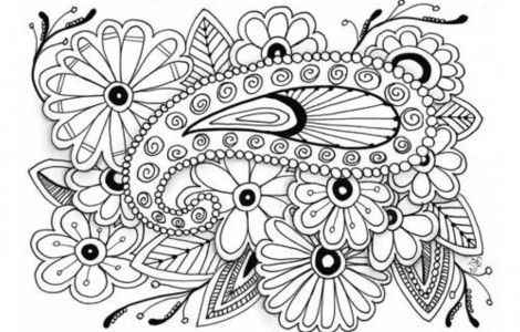 Coloring pages online for adults | pic to print and color ...