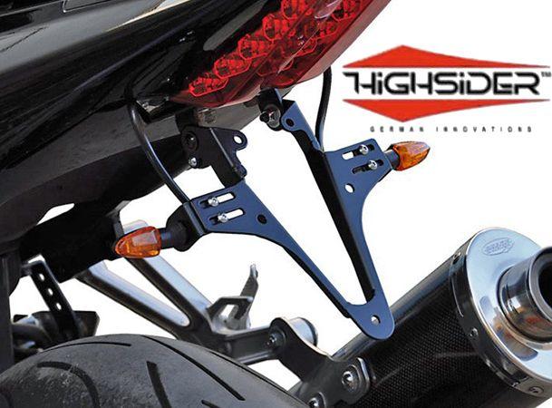 Suzuki SV650 2003-10 SV1000 2003-06 Highsider Tail Tidy Number Plate Bracket & Suzuki SV650 2003~10 SV1000 2003~06 Highsider Tail Tidy Number Plate ...