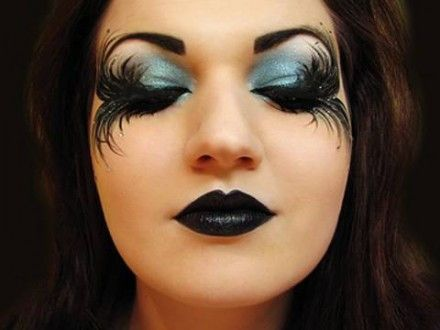 Maçã Azul: Maquiagem Artística
