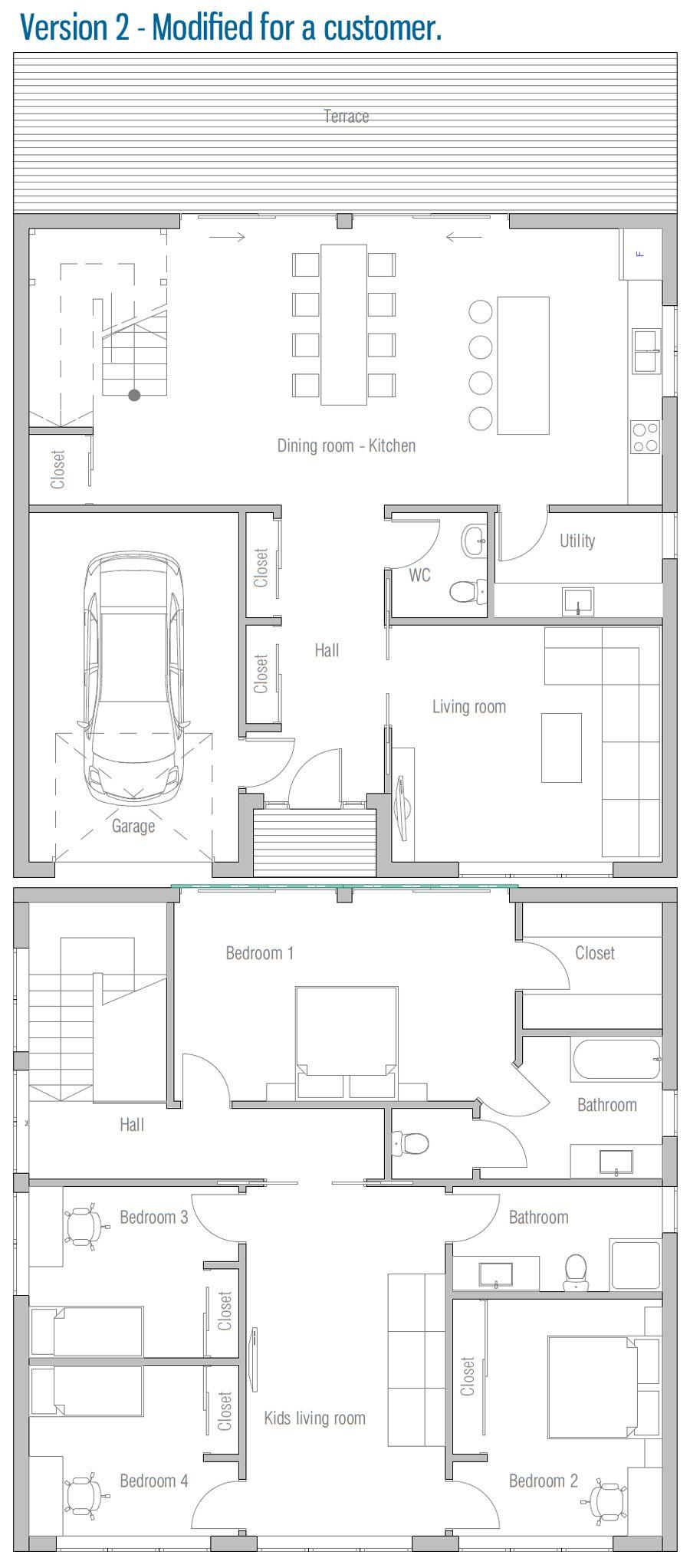 Customer House Plan My House Plans House Plans Craftsman Floor