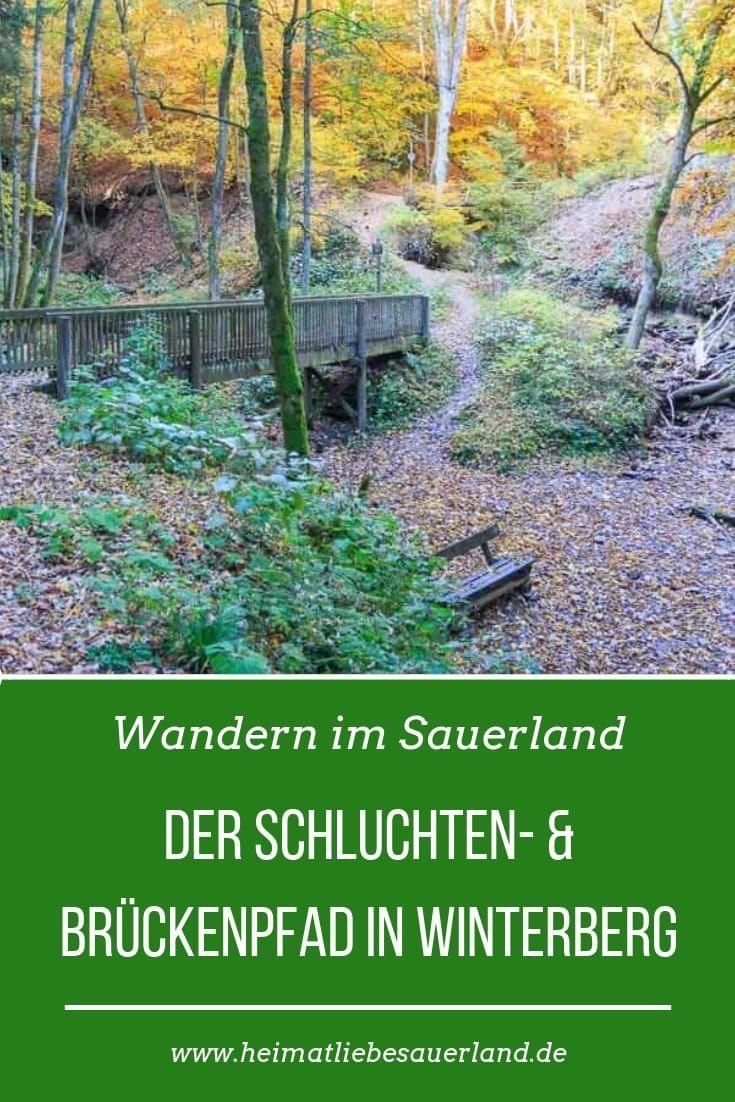 Photo of Eine traumhafte #Wanderung durch eine Klamm in #Winterberg. Der Brücken- und Sc…