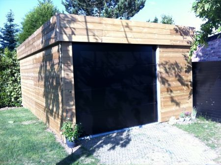 Construction Garage Bois Sur Mesure  Devis \ Prix abri bois