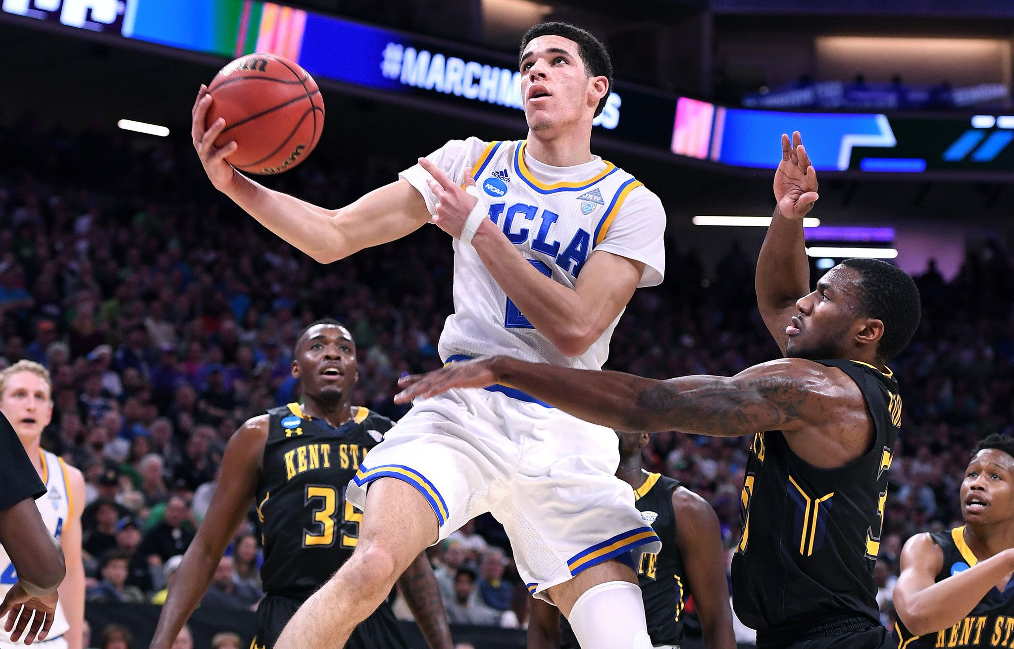 Dynamic freshman duo again carry the Bruins to victory