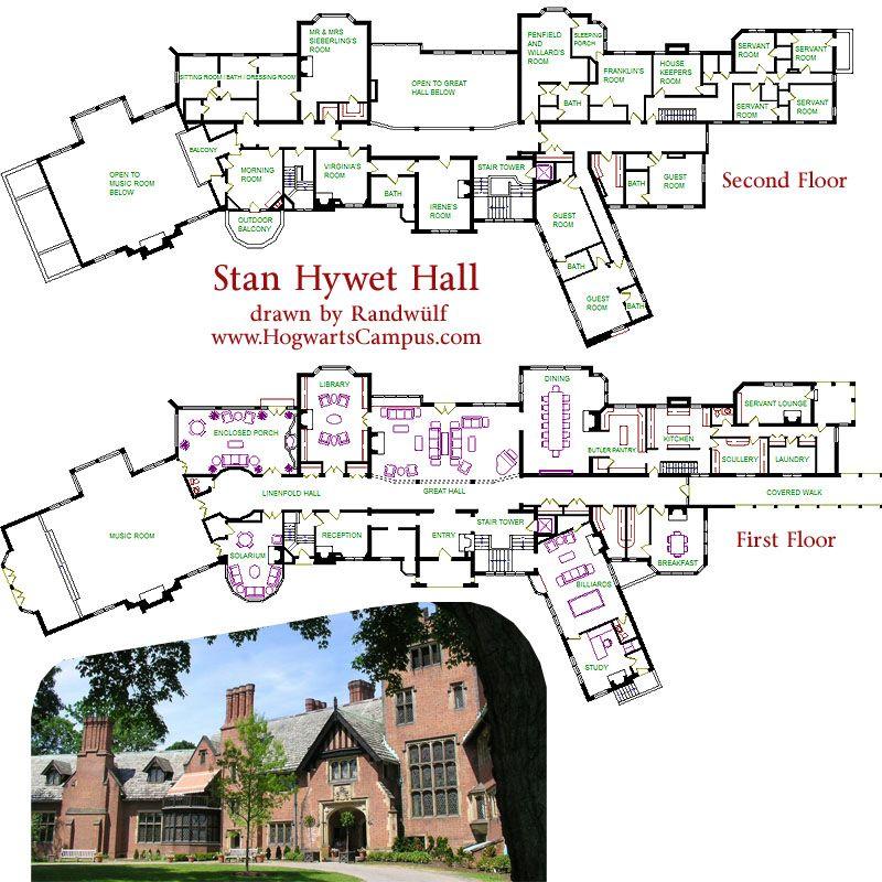 Stan Hywet Hall Floor Plan Castle Floor Plan Castle Plans Mansion Floor Plan