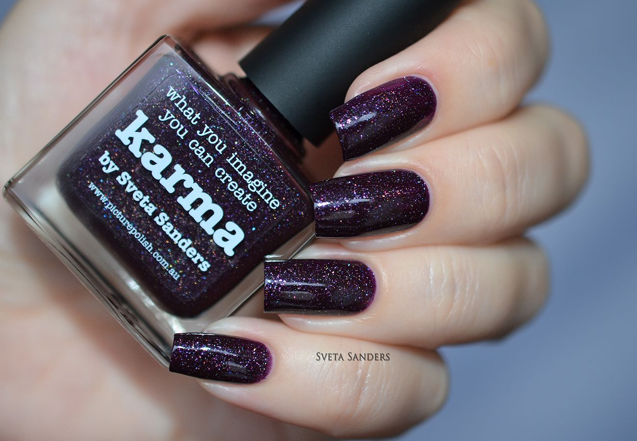 piCture pOlish NEW \'Karma\' created with Sveta Sanders LOVE thank you ...