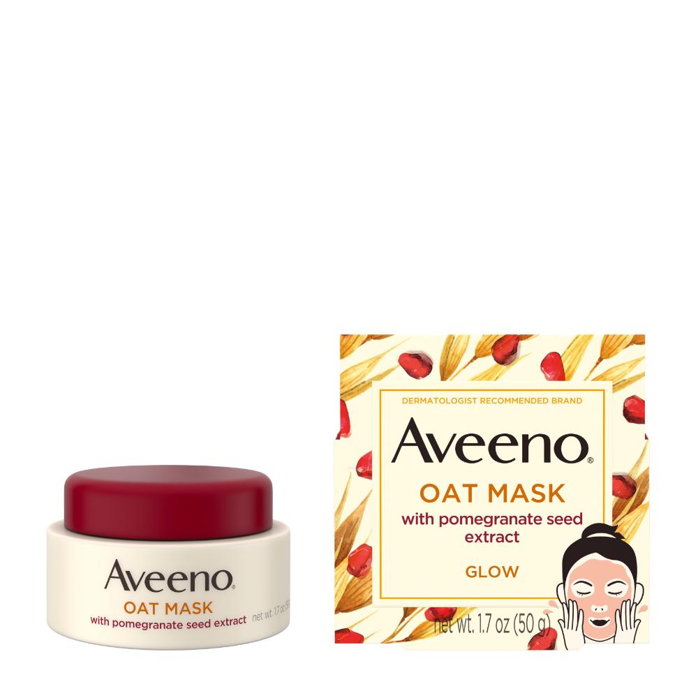 Beauty in 2020 Oats face mask, Glowing skin, Pomegranate