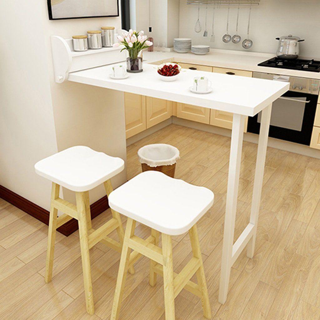 Tavolo Ribaltabile A Parete tavoli da bar pieghevole per la casa pranzo a scomparsa da