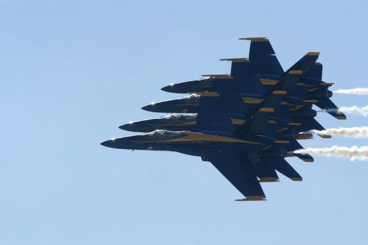 Blue Angels Dobbins Air Base Blue Angels Blue Fighter Jets
