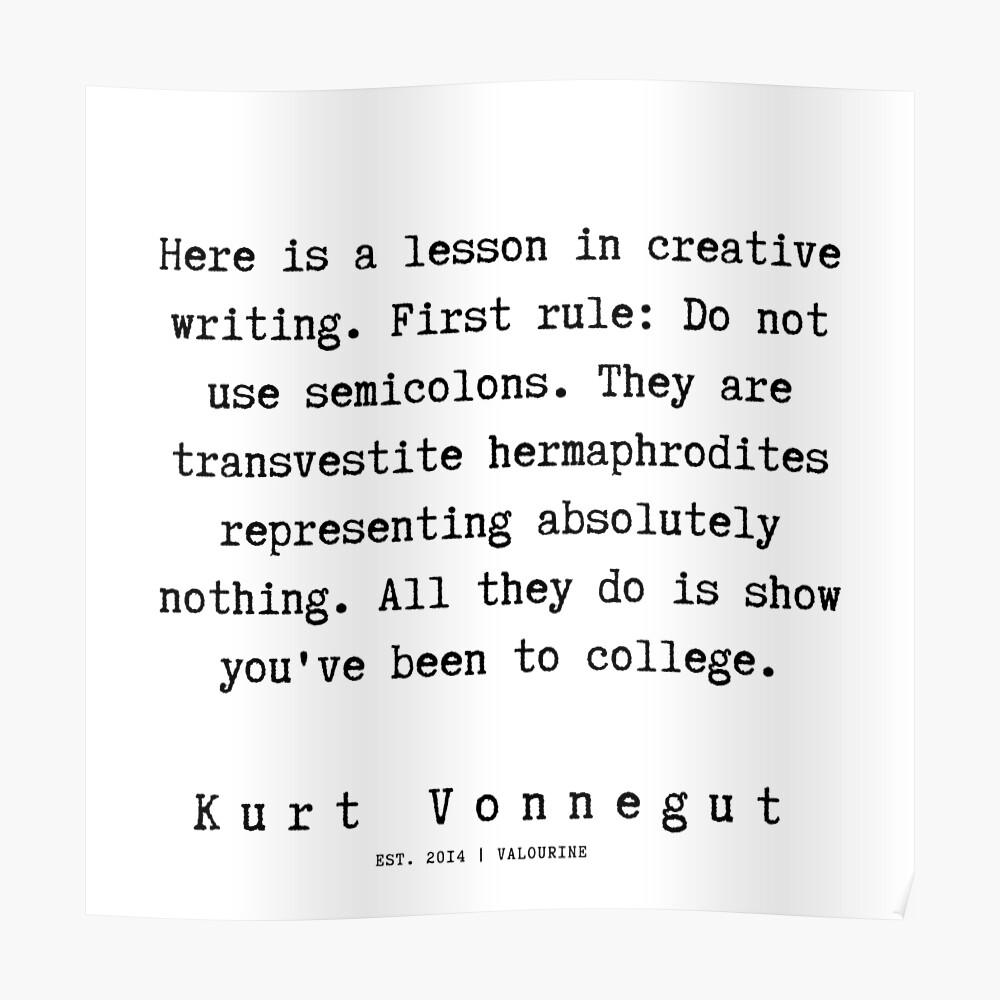 8 Kurt Vonnegut Quotes 191006 Poster By Quotesgalore Kurt Vonnegut Quotes Kurt Vonnegut Influential Quote