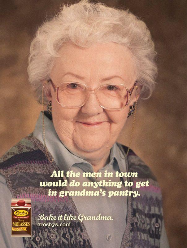 96f93d647f2 Grandmas Get Sleazy In Canadian Molasses Ads
