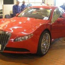 Luxury car born from scrap