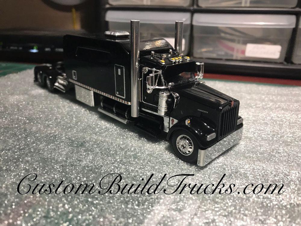 Details about BLACK DCP 1/64 KENWORTH W900 HOOD CAB 86
