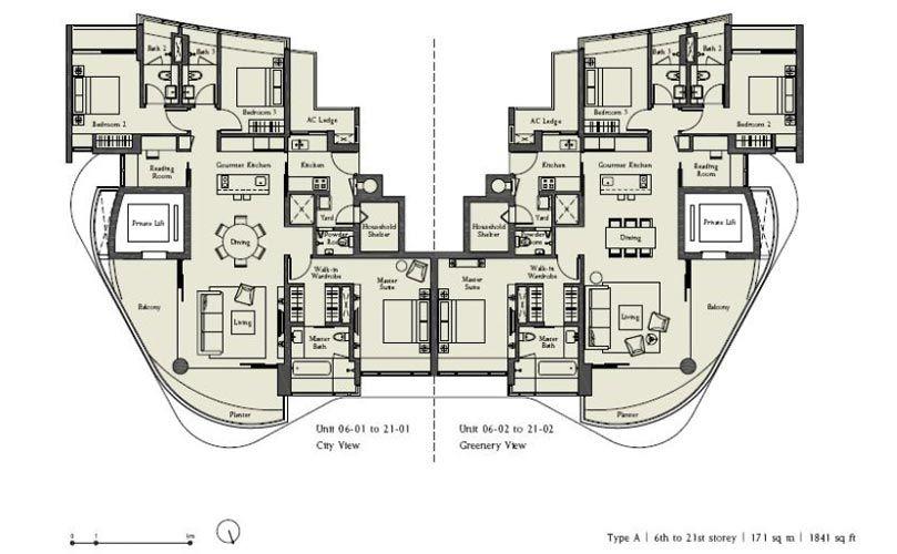 Ferrell Residences Showflat Location Showflat Hotline 61007122 Condo Floor Plans Apartment Floor Plans Floor Plans