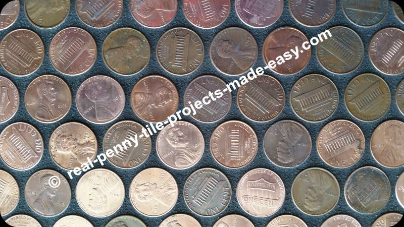 Contact Real Penny Tile Projects Made Easy Penny Tile Handmade Tiles Mosaic Tile Sheets