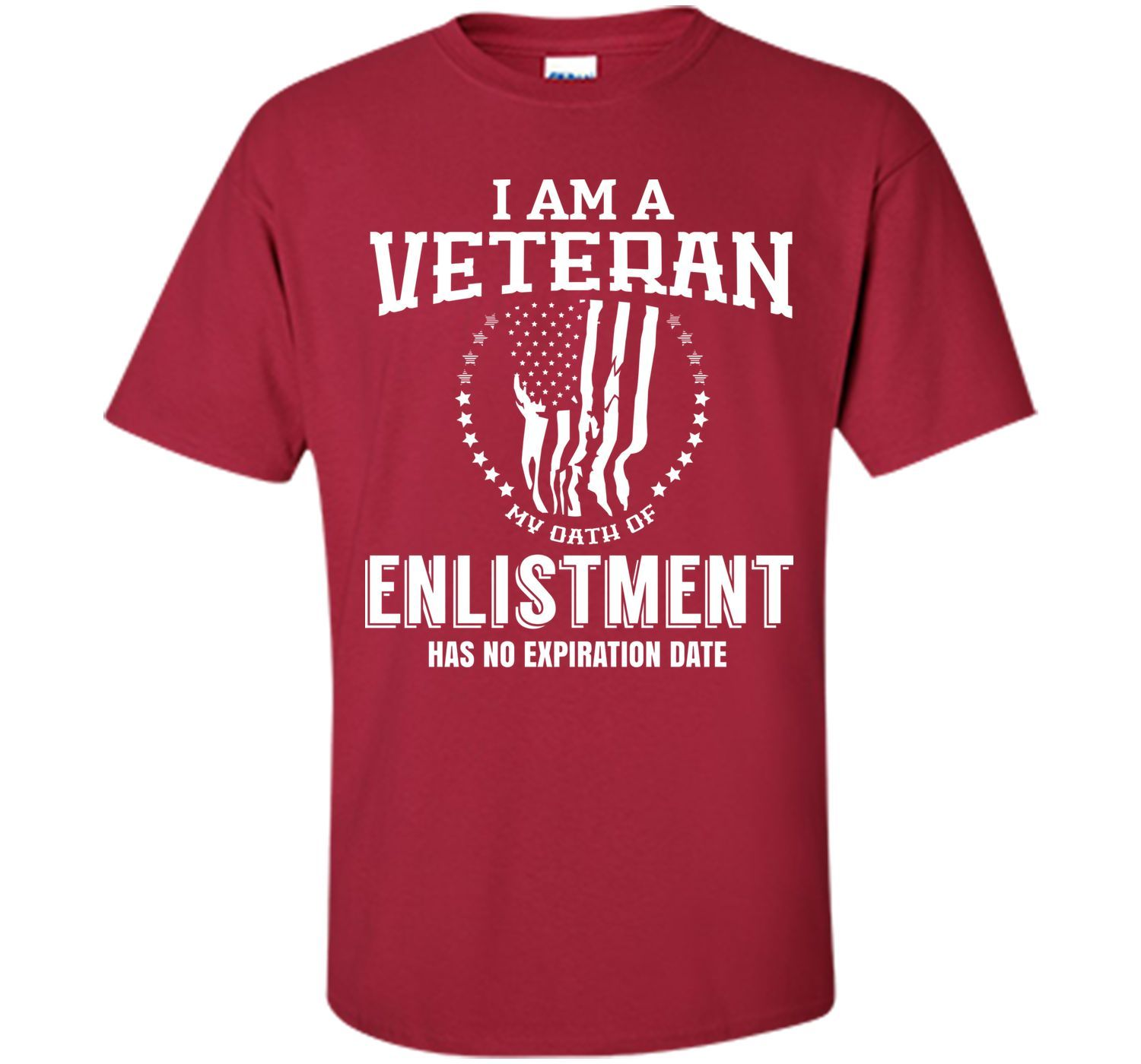 I Am Veteran-The Oath Of Enlistment Has No Expiration Date T Shirt T-Shirt