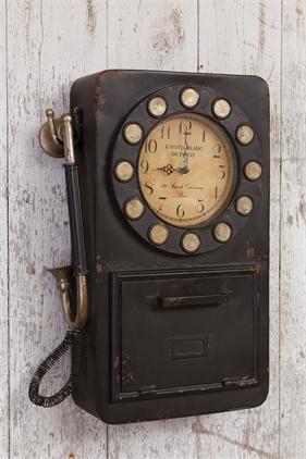 Vintage Inspired Clock Vintage Wall Clock Vintage Clock Clock Decor