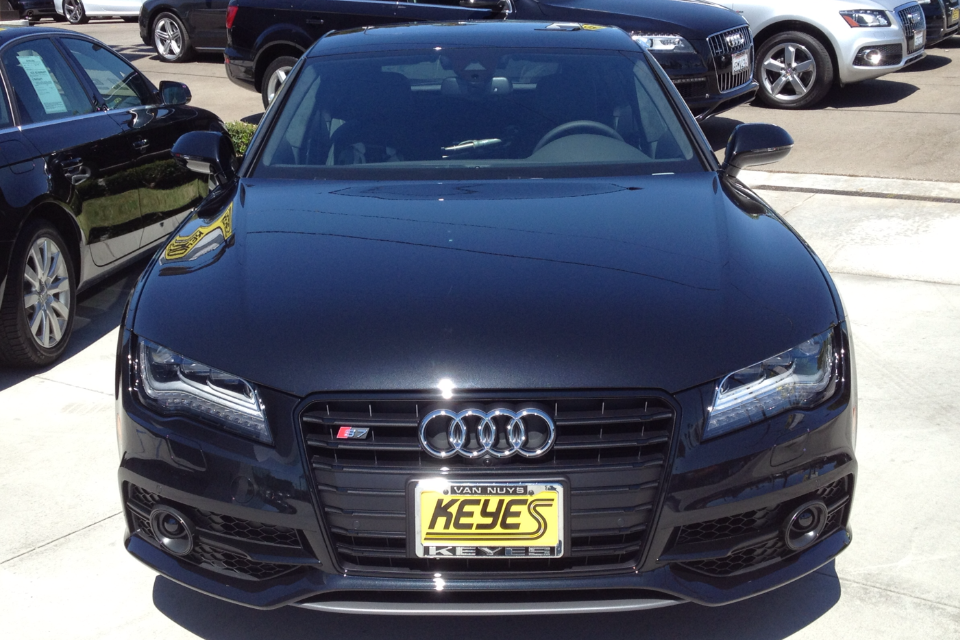 Mean-Looking Audi S7 with Black Optic Package just Sold at