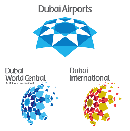 Dubai Airports Logo Art And Design Inspiration From Around The World Creativeroots Airport Logo Logo Design Infinity Logo Inspiration Branding
