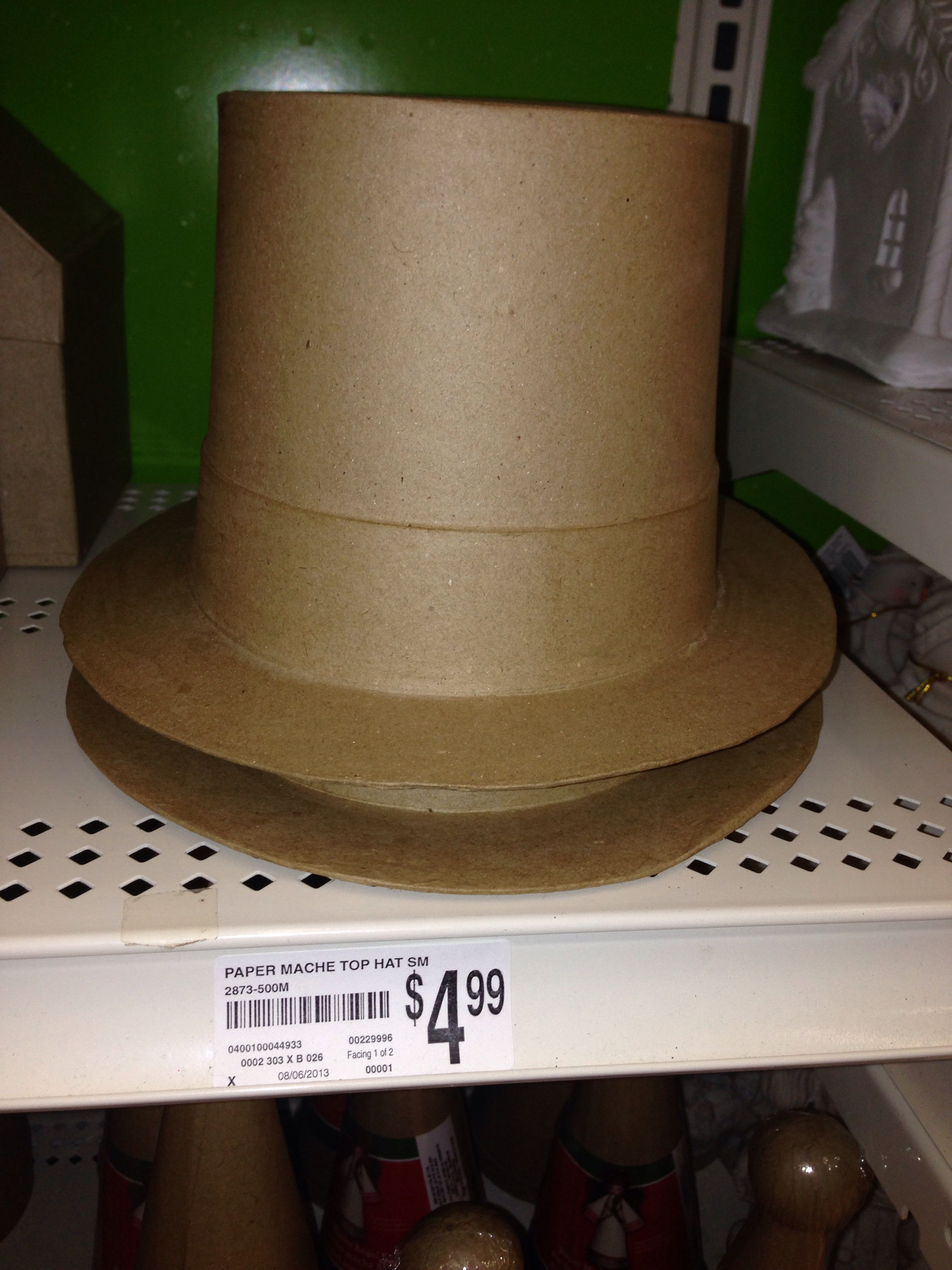 paper mch hat in michaels arts craft store