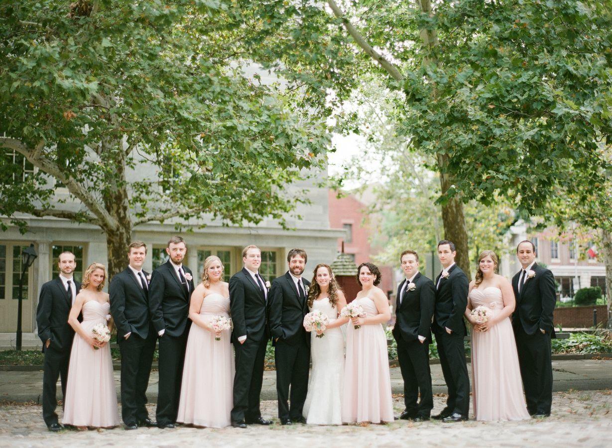 Photography: Paul Francis Photography - paulfphotography.com  Read More: http://www.stylemepretty.com/little-black-book-blog/2014/11/28/romantic-blush-philadelphia-wedding/