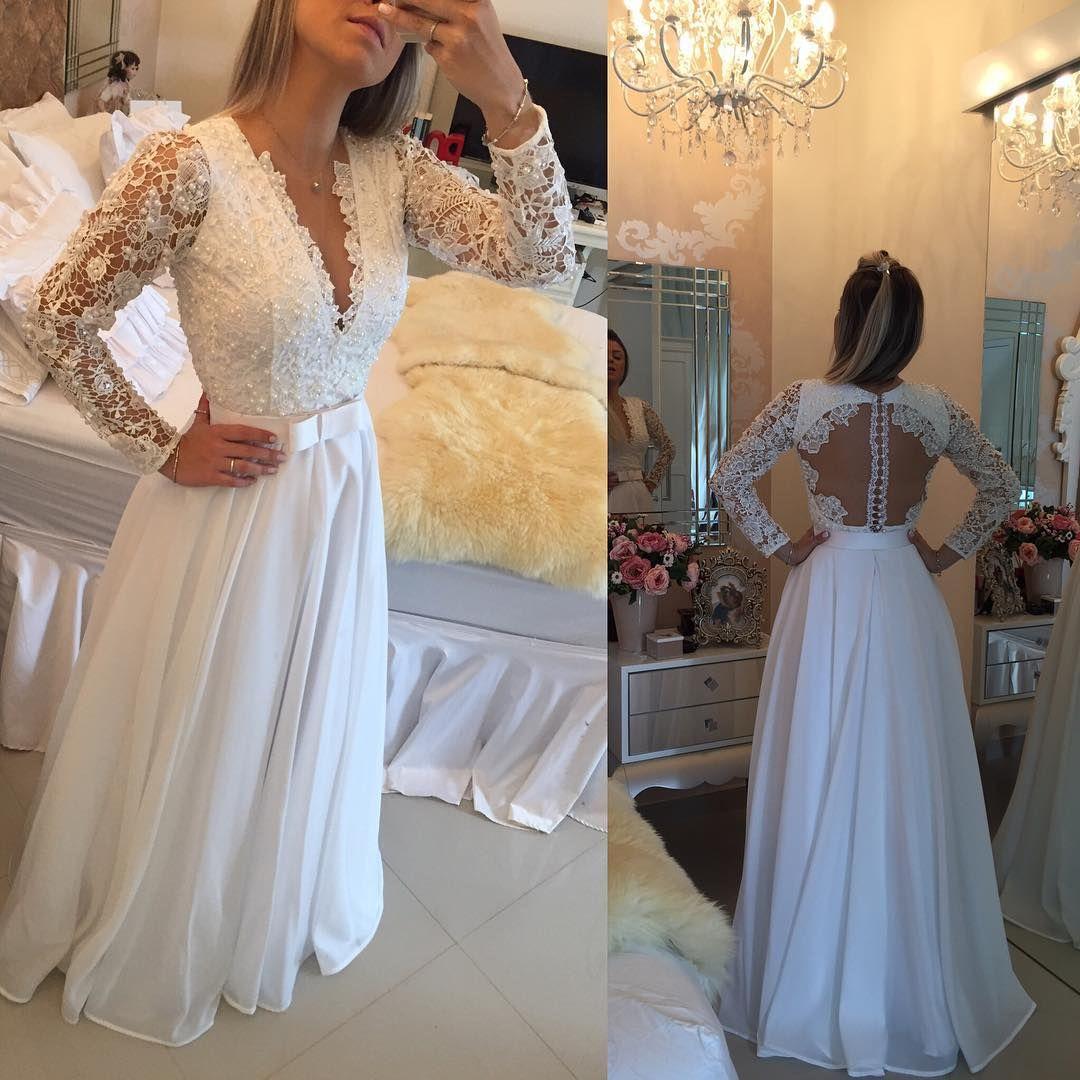 Vestido De Noiva Barbara Melo Wedding Vestidos