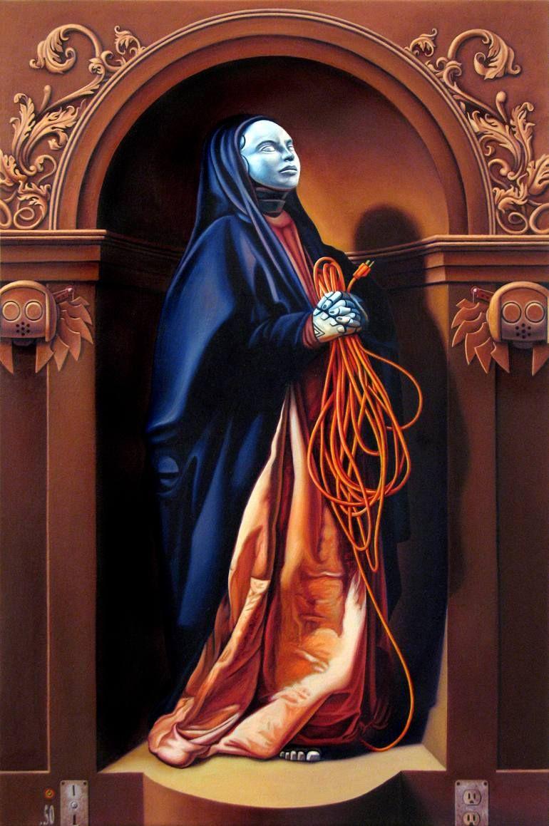 Dan Lydersen Mary Art, Art history, Painting