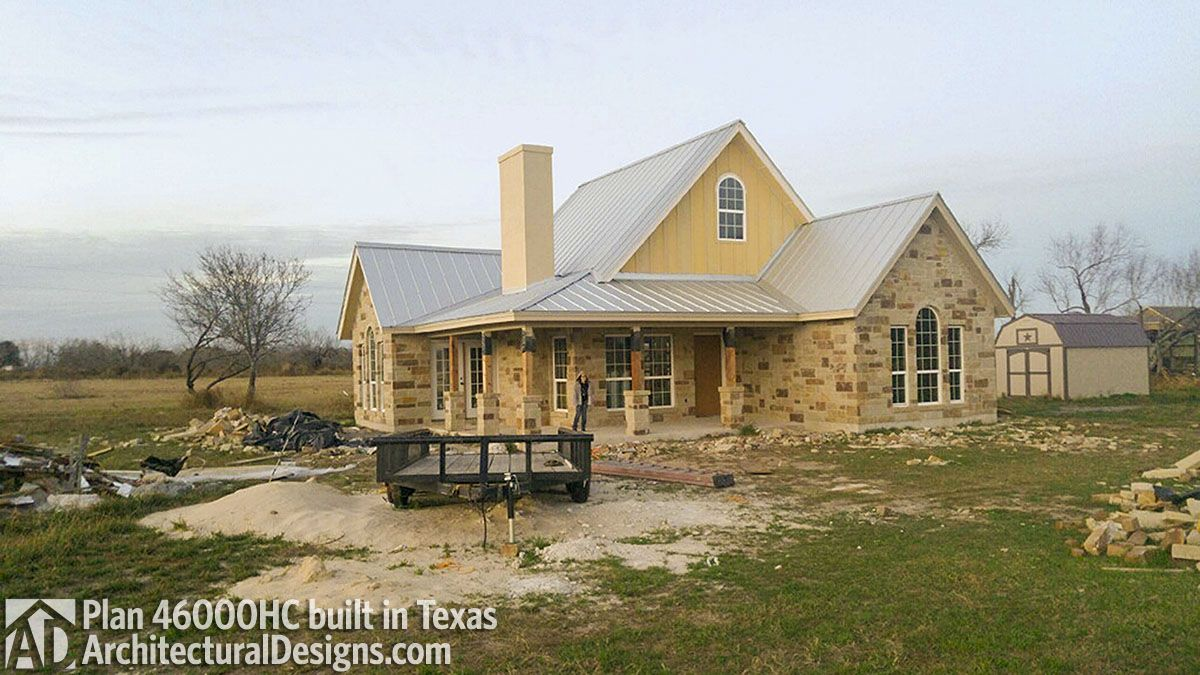 Plan 46000hc Hill Country Classic Hill Country Homes House Classic House