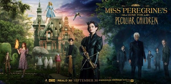 Miss Peregrines Home For Peculiar Children Poster Banner Ninos