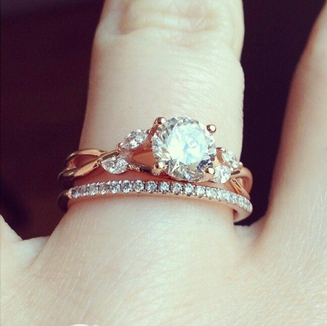 Brilliant Earth nature inspired wedding ring Wedding Rings