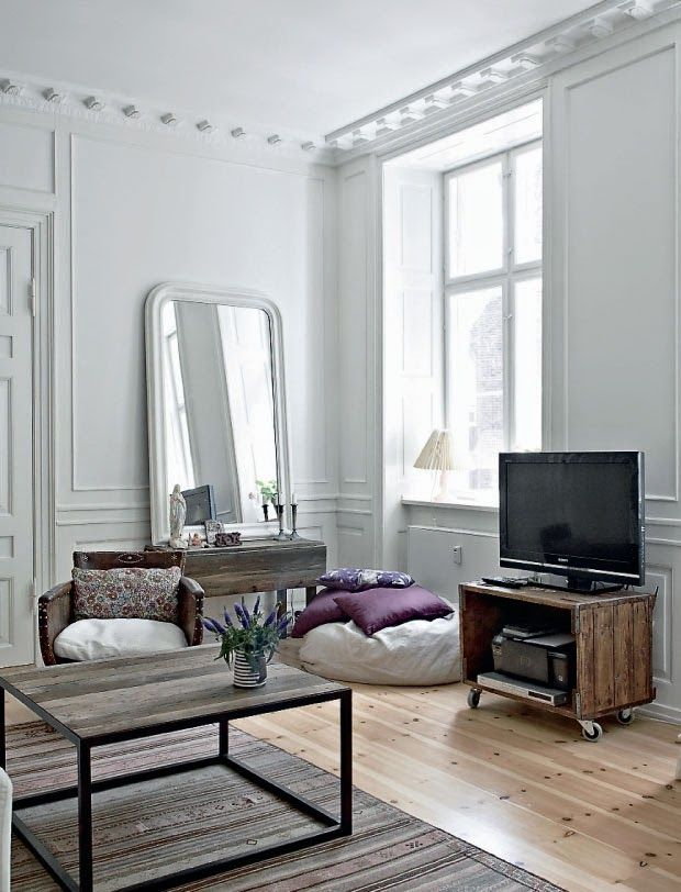 Le charme de l\'ancien à Copenhague | Decoration appartement ...