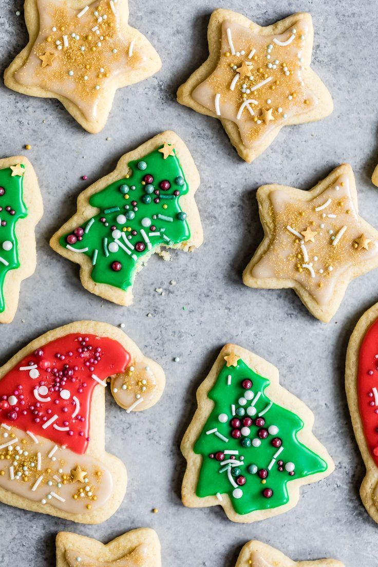 GlutenFree Sugar Cookies with Easy Icing Recipe