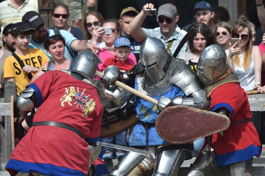 Mille guerriers croisent le fer au Championnat du monde de