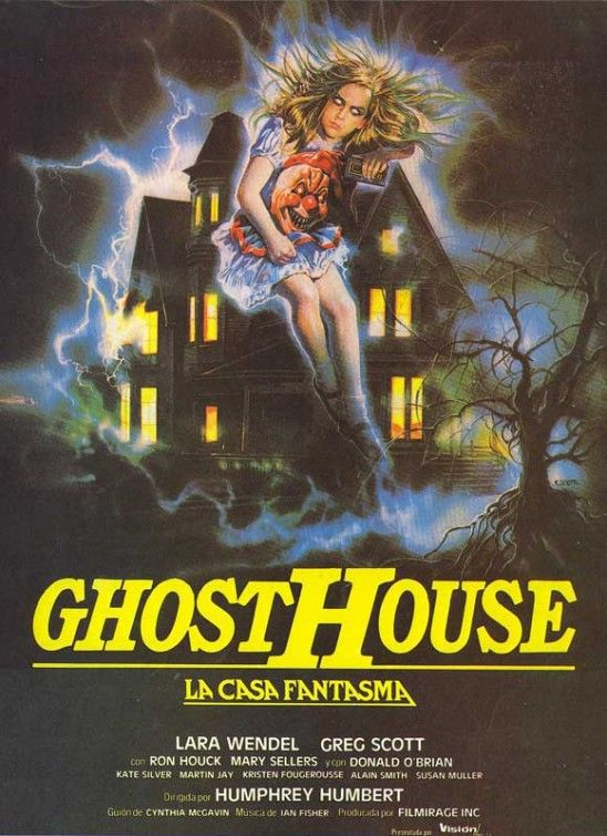 The haunting cult horror Movie poster print #2
