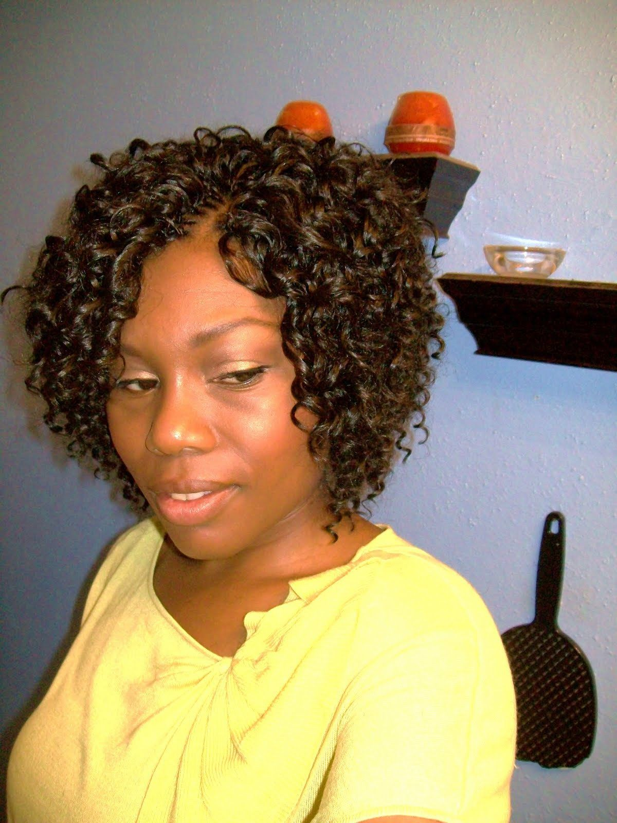 Very Short Crochet Braids Google Search Curly Crochet Hair Styles Short Crochet Braids Braids For Short Hair