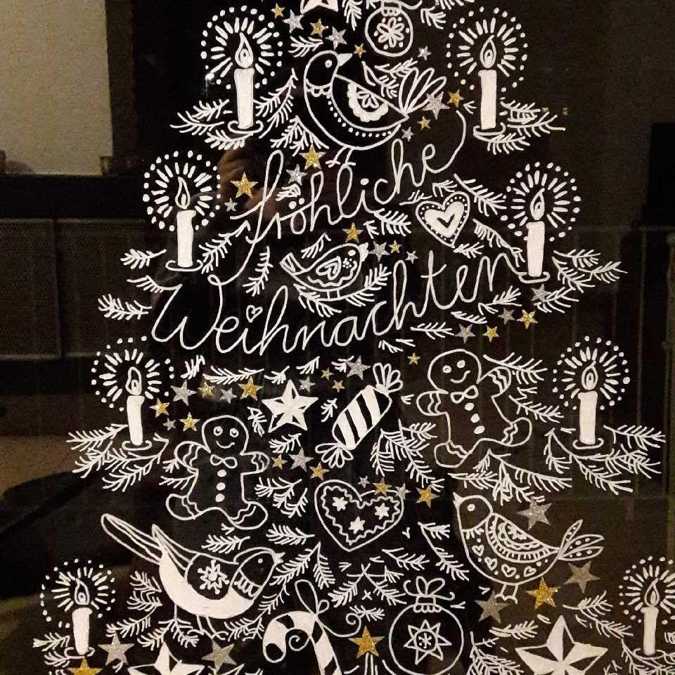 Weihnachten Fur Die Fenster Bine Brandle Weihnachten Vorlagen Fensterbilder Weihnachten Und Weihnachtsfenster