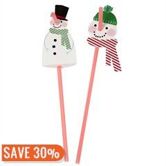 Jingle All The Way Party Straws - only $4.87!