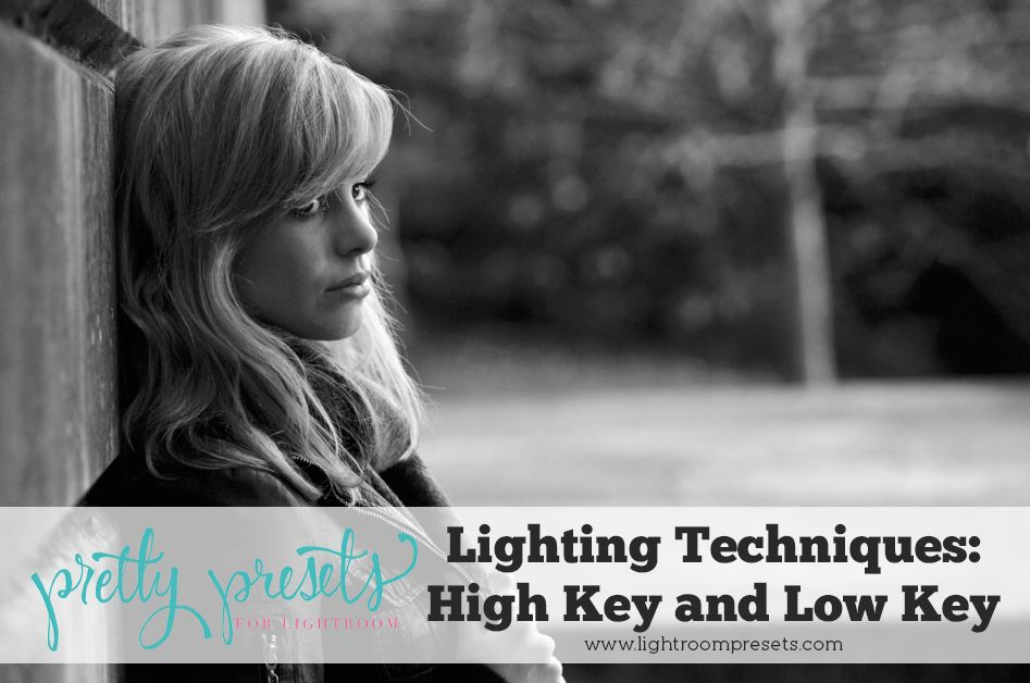 In this post, we will look at two different, yet very popular, lighting techniques: high key and low key. High key lighting is just what you would imagine - very bright, even light, whereas low key emphasizes midtones and shadows.
