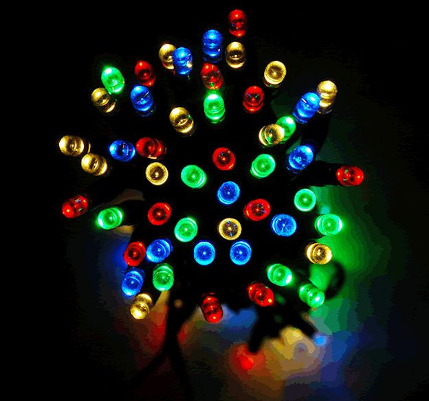 solar powered christmas lights review the solar lights site