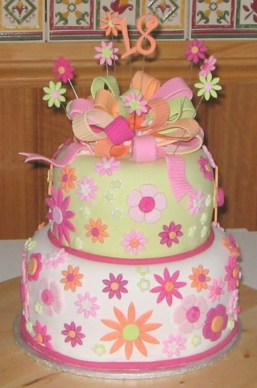 18th Birthday Cakes Tumblr Cake Photo Ideas Cakes Pinterest
