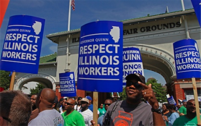Support Illinois public employees..