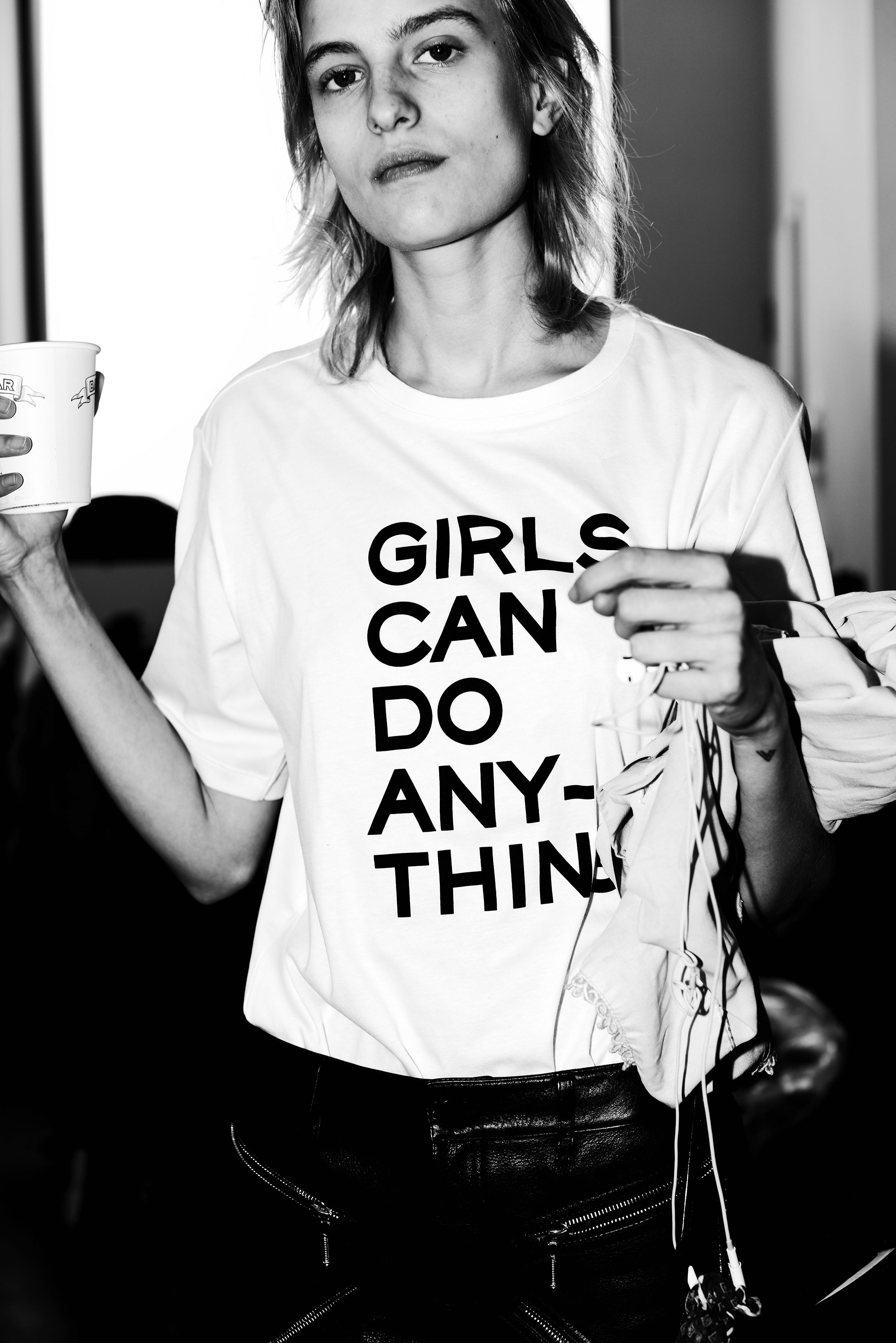 539cf966 Girls can do anything in 2019 | T Shirts | Zadig, voltaire, T shirts ...